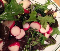 Амарантово-редісовий салат