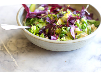 Салат з амаранта з тунцем